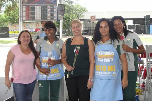 dia internacional da mulher sinpospetro-rj